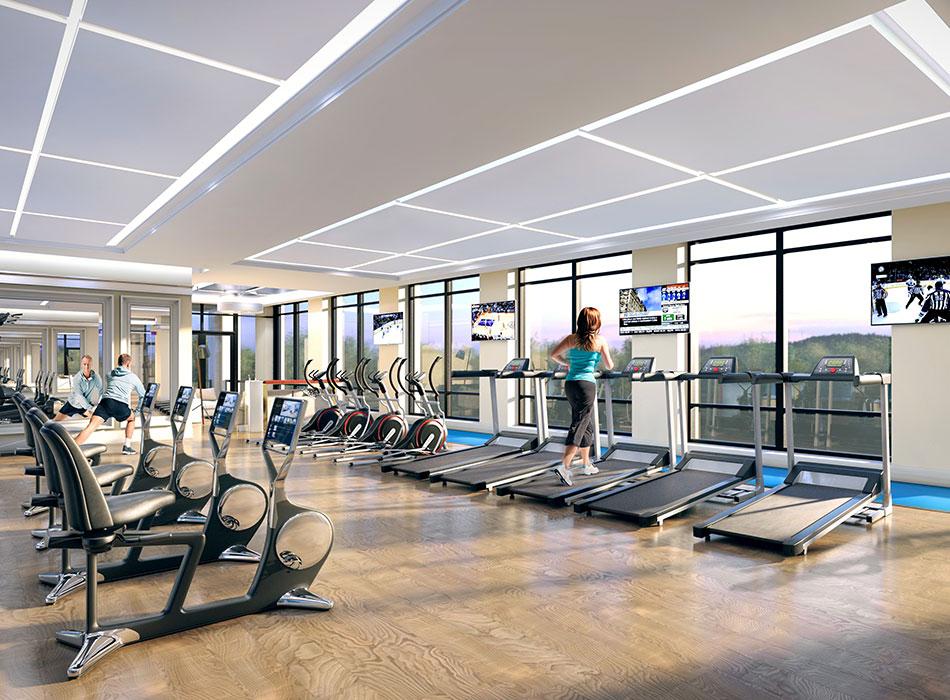 edge towers - fitness-room