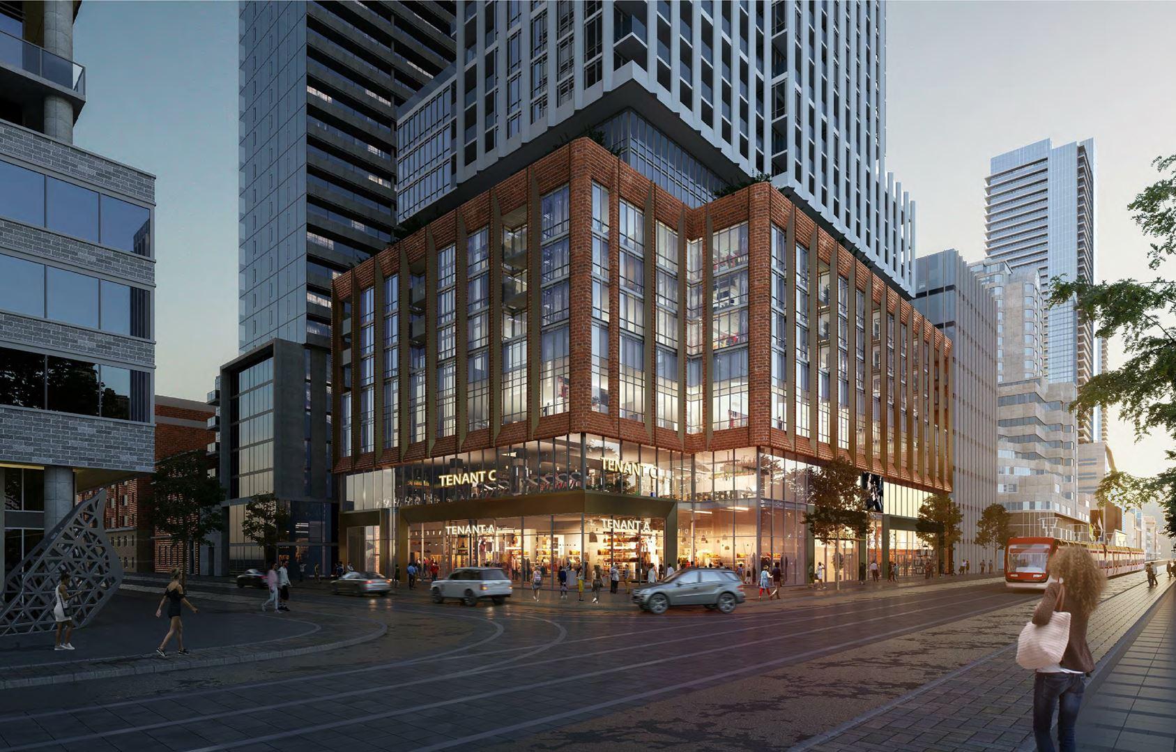 400KingWest building