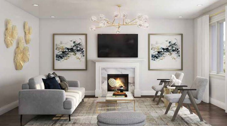 Caledon Club_living room