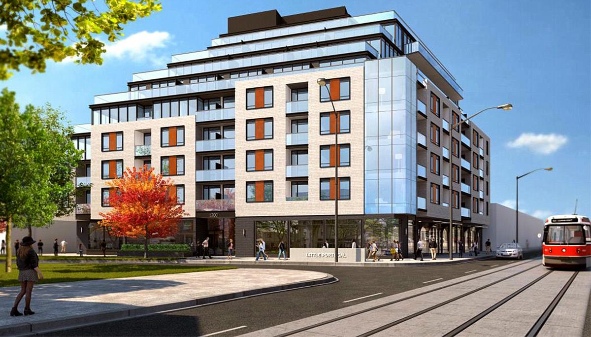 The Twelve Hundred Condos building