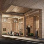 Yorkville Private Estate Entrance Render