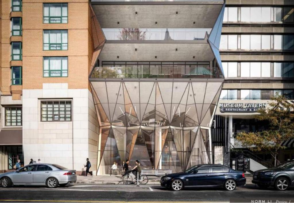 210 Bloor Street West Condos building