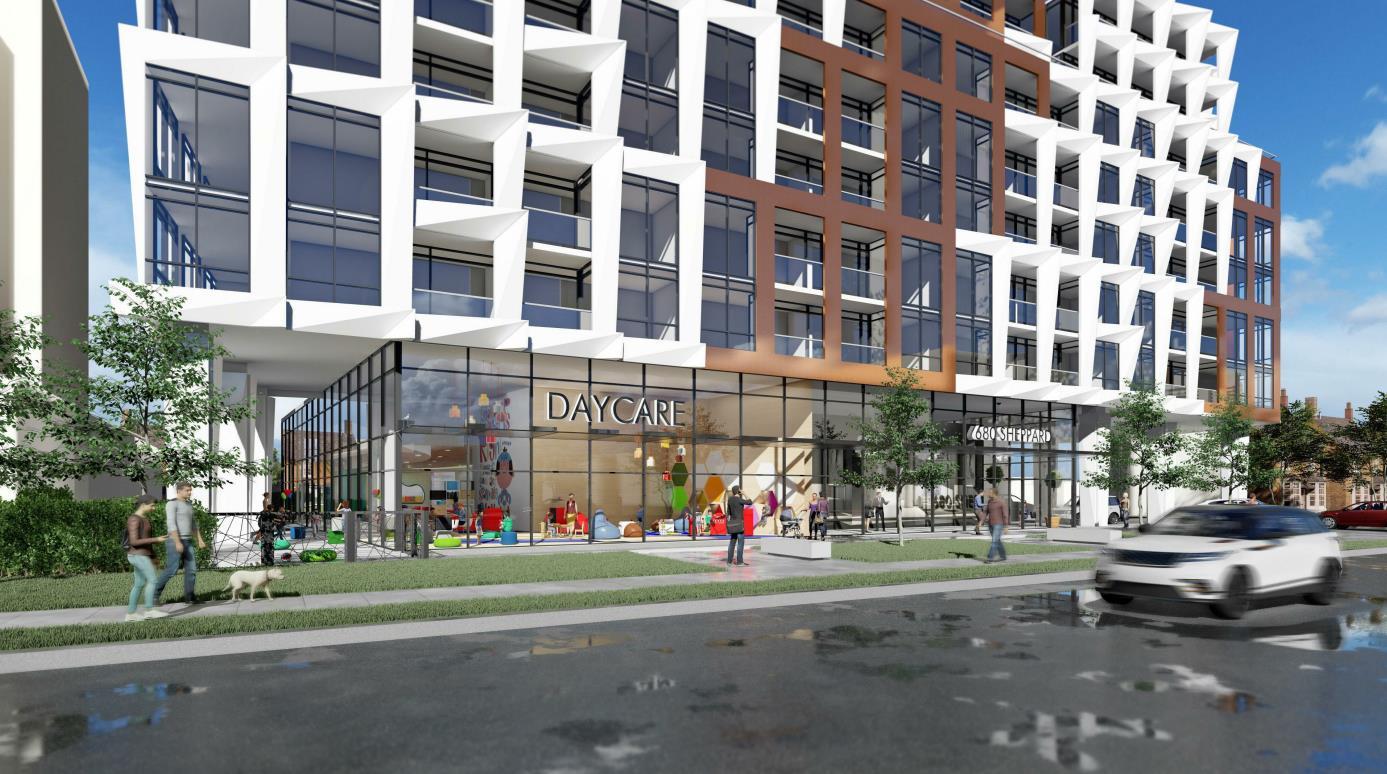 680 Sheppard Avenue East Condos building 02