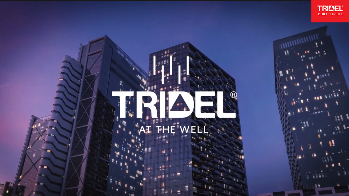 Tridel with building background
