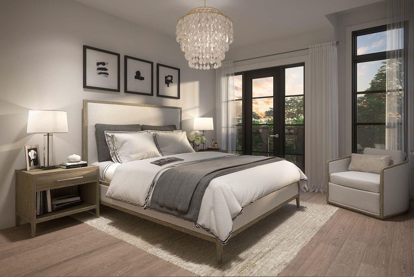 Archetto Woodbridge Towns bedroom