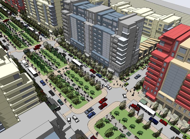 Langstaff Gateway Condos plan 01