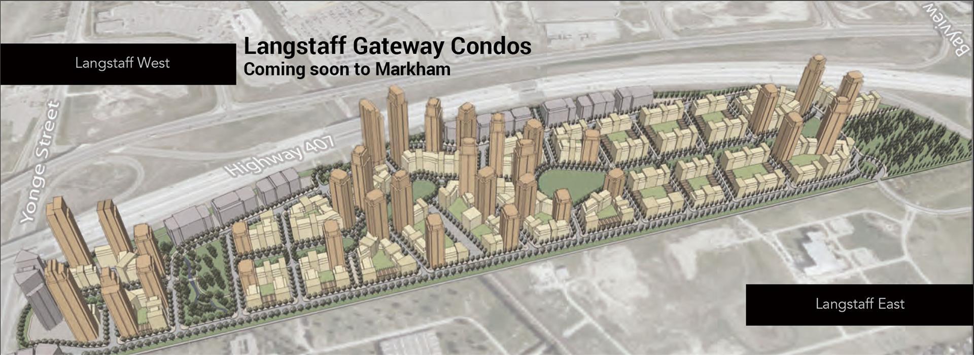 Langstaff Gateway Condos plan
