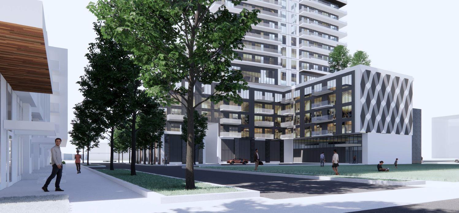Parkside Square Tower building 07