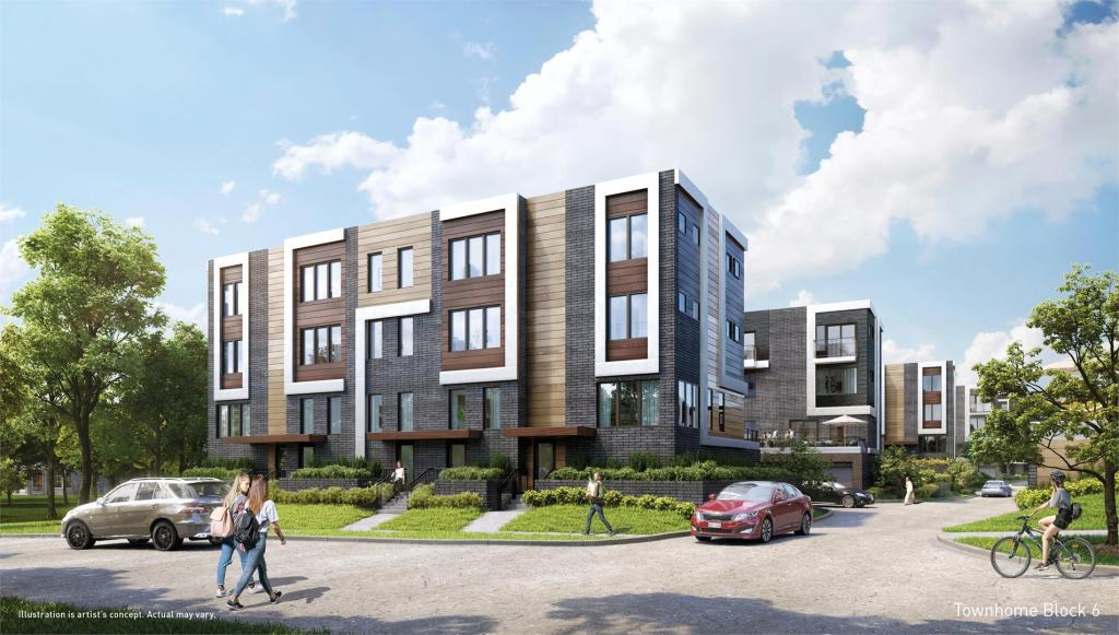 Parkside Towns at Saturday building 01