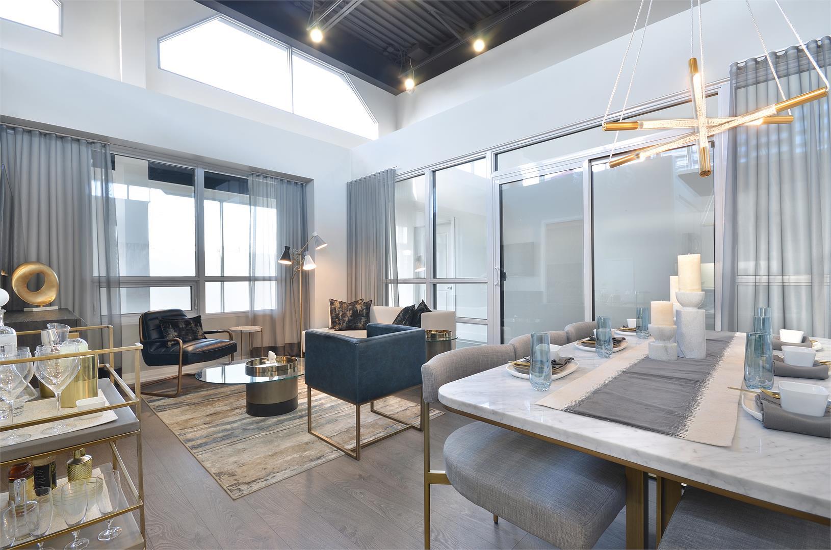 Pinnacle Toronto East Condos living room