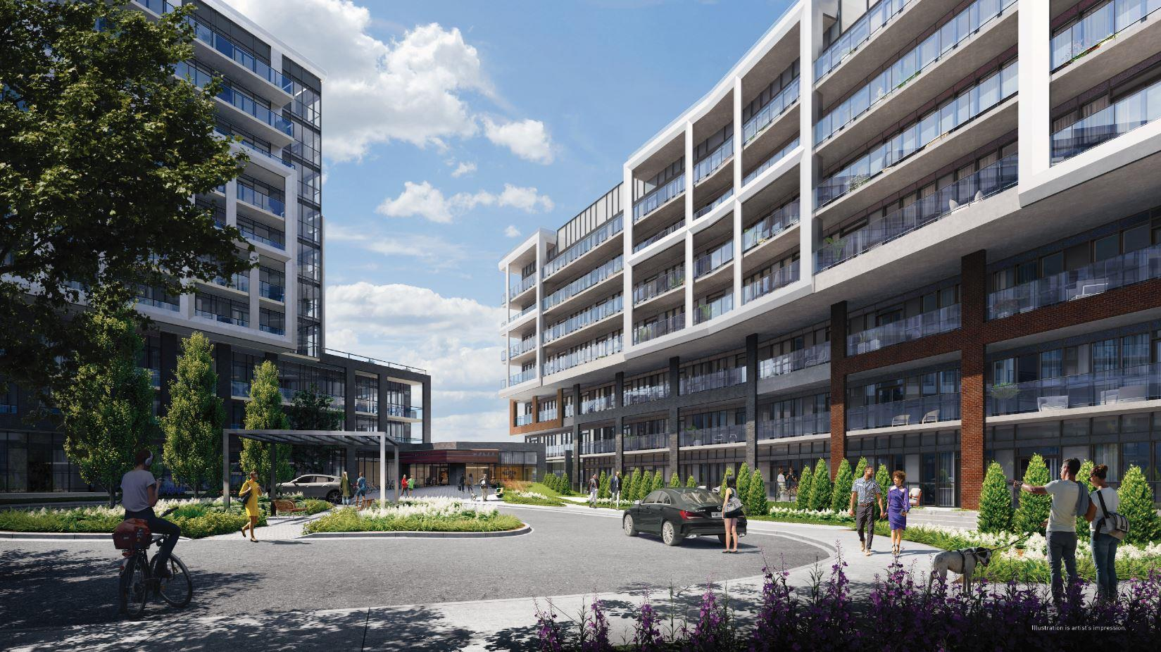 Saturday in Downsview Park Phase 2 bulding 01