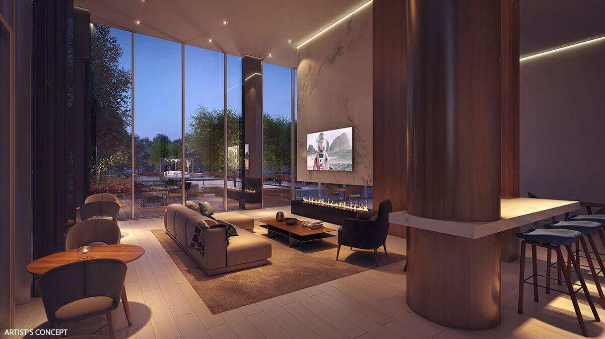 UC tower condos lounge 01