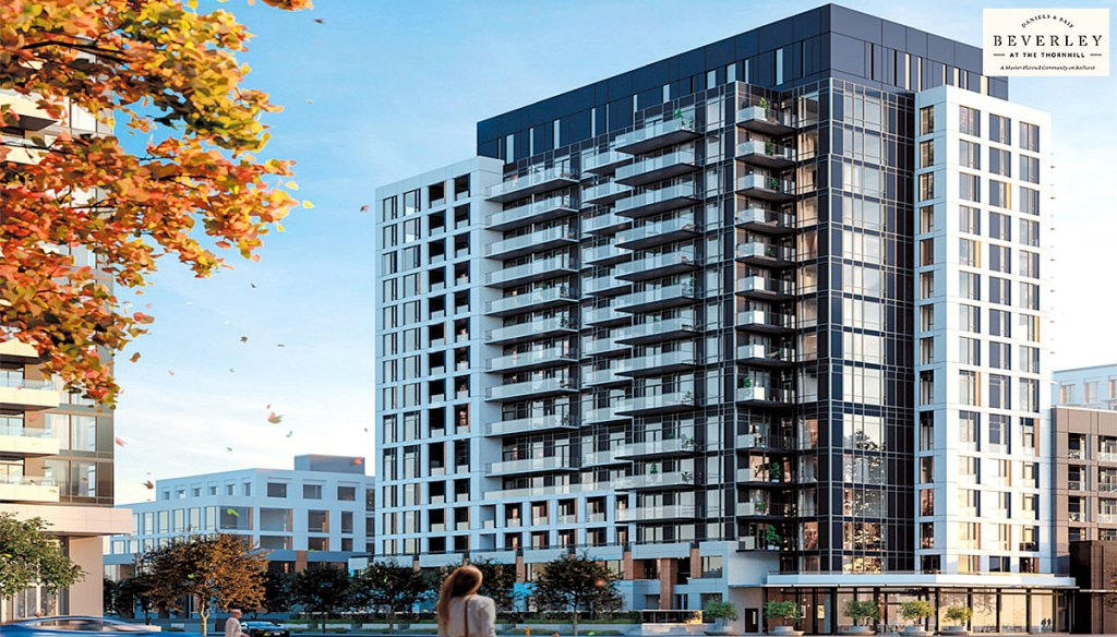 Boulevard condos at The Thornhill