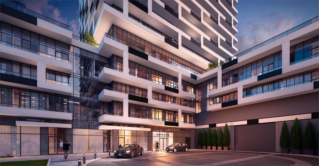 Sixty Five Broadway Condos building