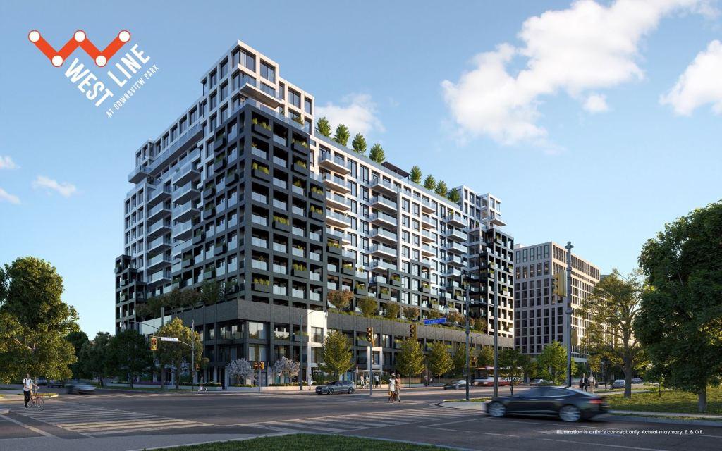 WestLine Condos building