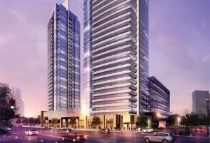 Centro Square Condos Rendering 1