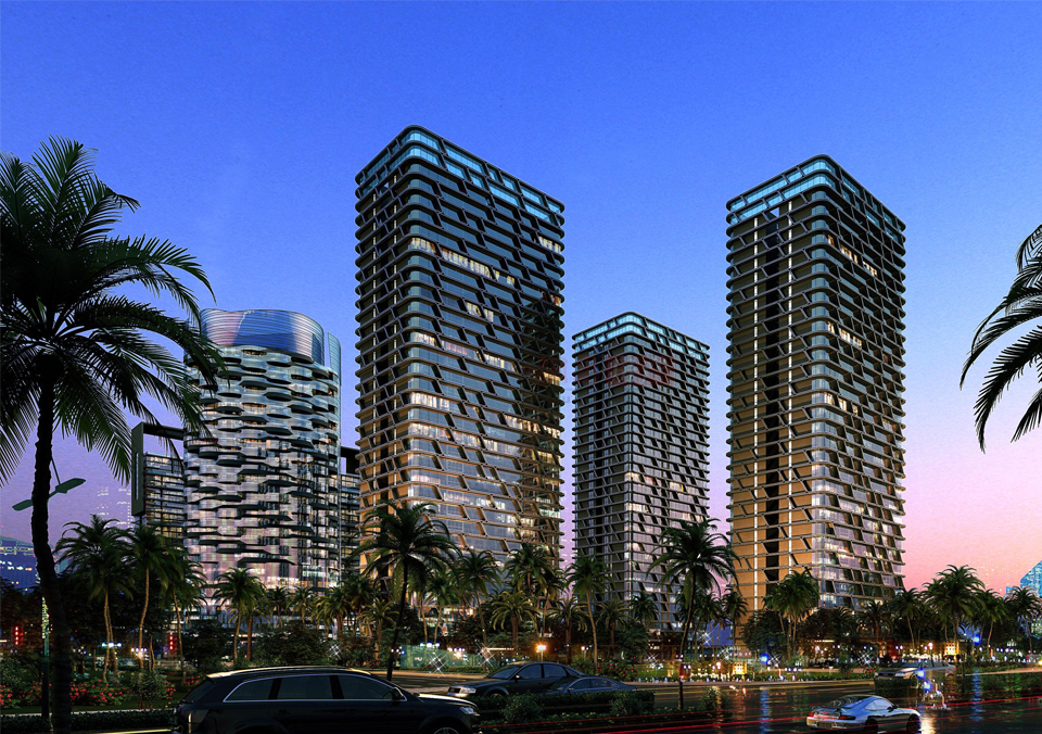 Sugar wharf condos phase 3 . Luxury houses in Wenshi sold at record prices