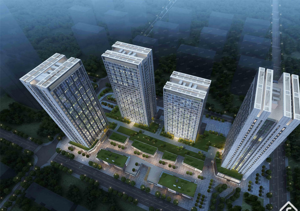 New condos mississauga . The new house in the traditional rich area, the town house in the core area of Wanjin