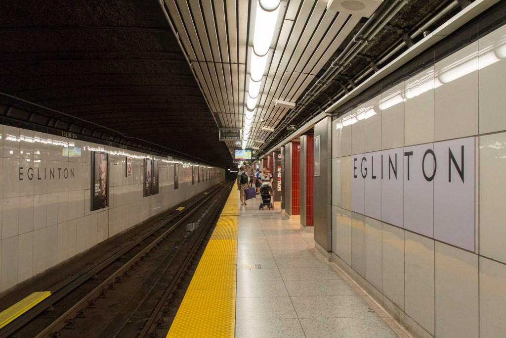 Englinton Station Toronto