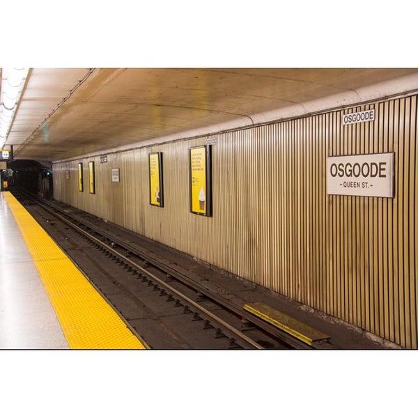 Osgoode TTC Subway Station