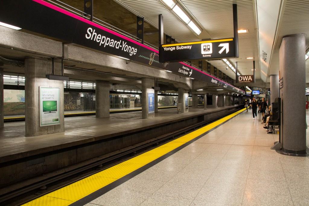 Sheppard Subway Station