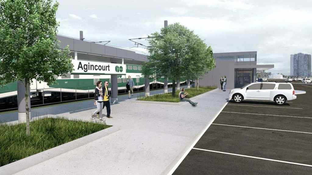 Agincourt GO train-min