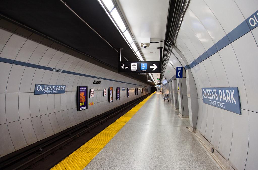 Queen's Park TTC station