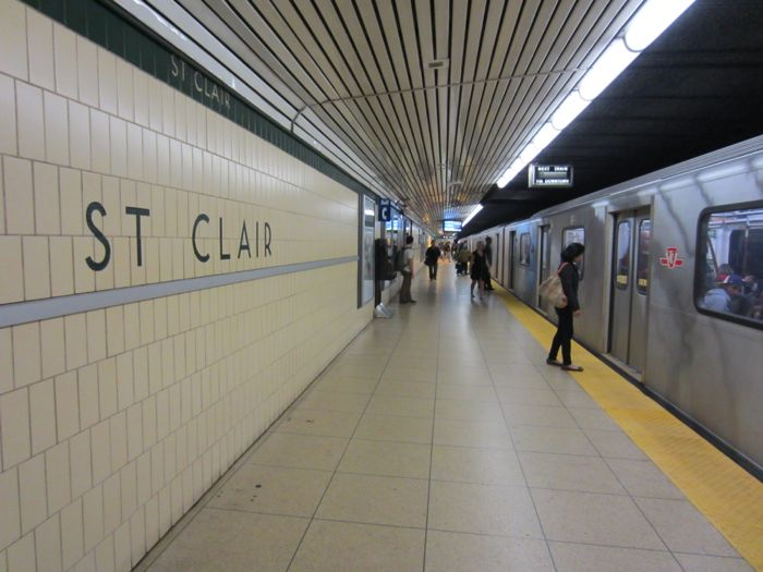 St. Clair West subway stop-min