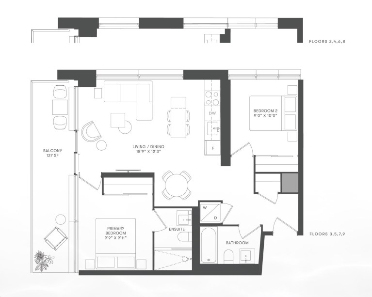 The Mason at Brightwater 2 BR-min