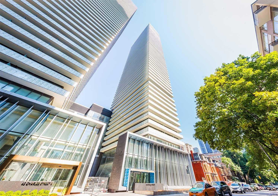 100 Queen Central condos . The Suhao house sells for 45 million