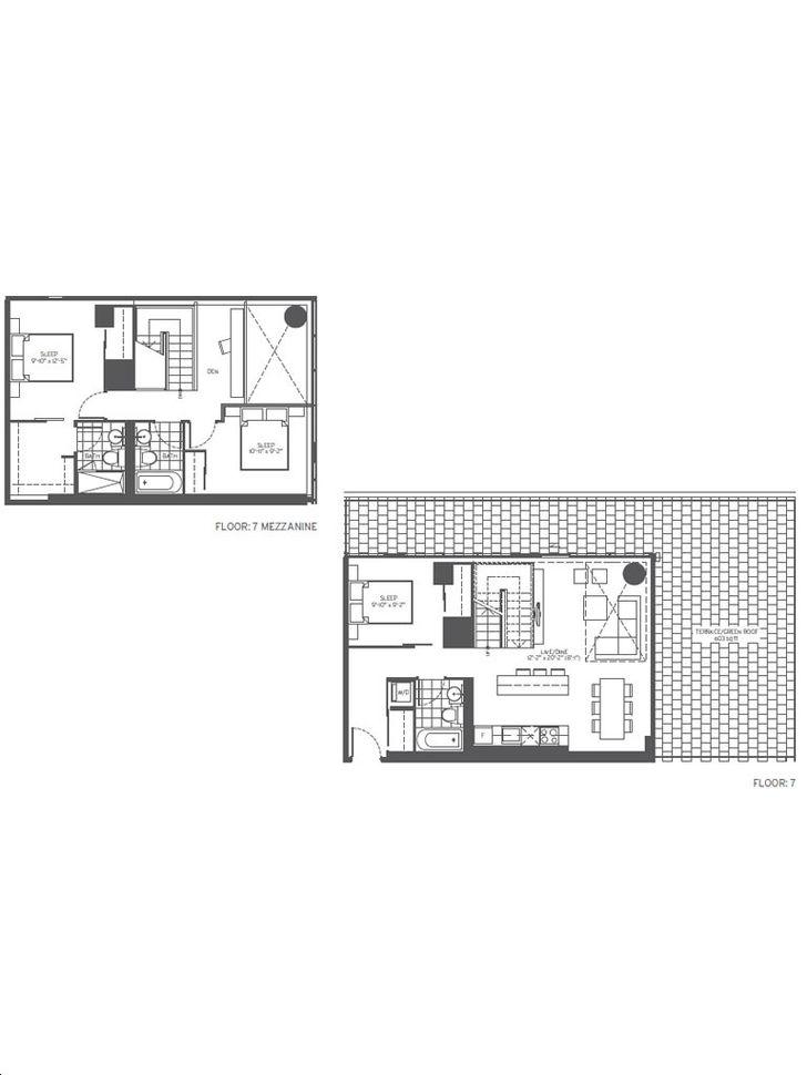 155 Redpath Condos 3 bed, 3 bath, den