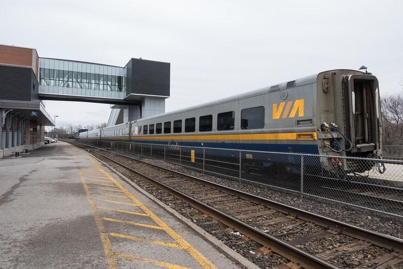 Cobourg Train Station- VIA Rail-min