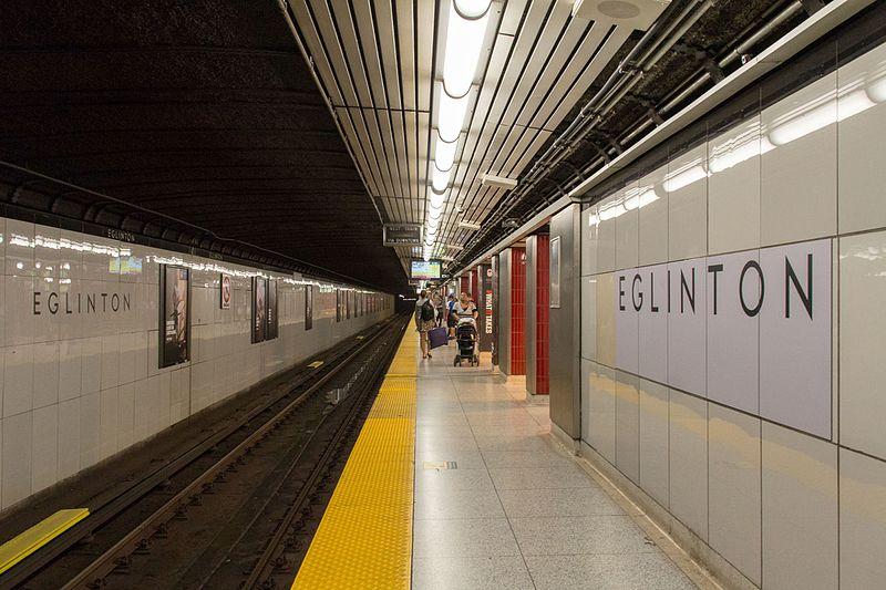 Eglinton subway station-min