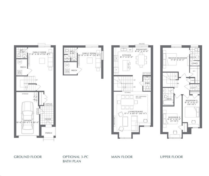 Forest District 3 bed, 2.5 bath