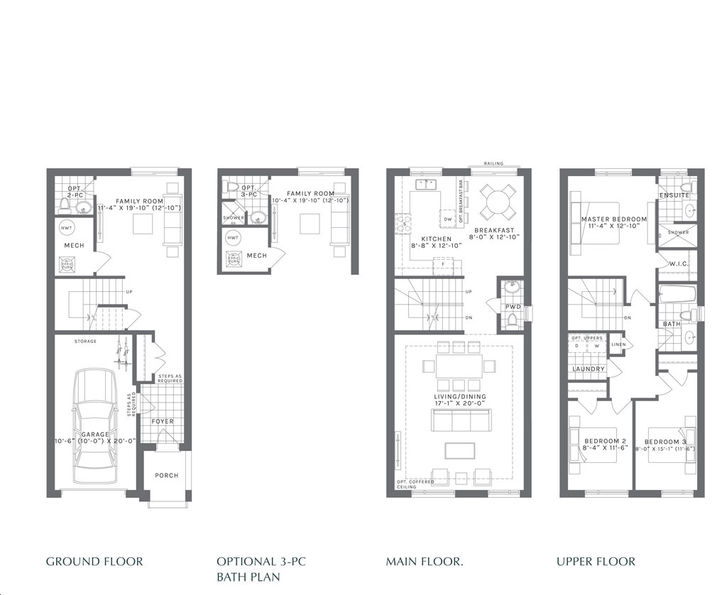 Forest District 3 bed, 3 bath