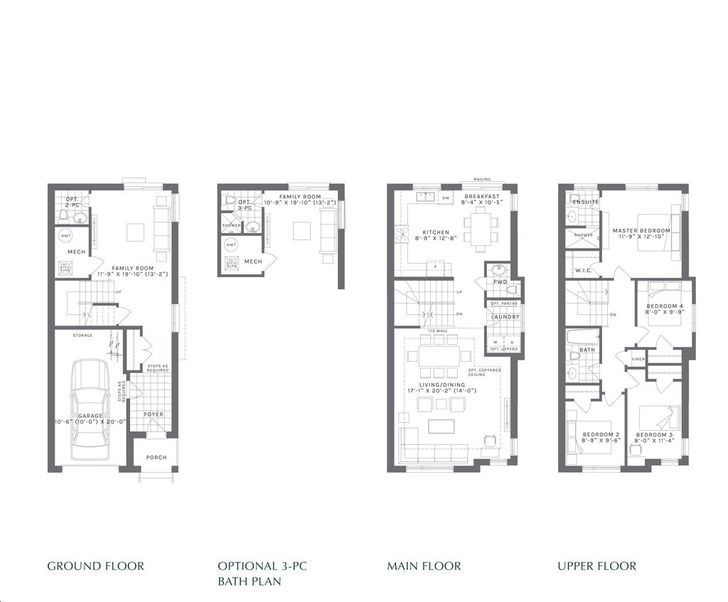 Forest District 4 bed, 2.5 bath