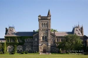 University College building. University of Toronto, Toronto, Canada.