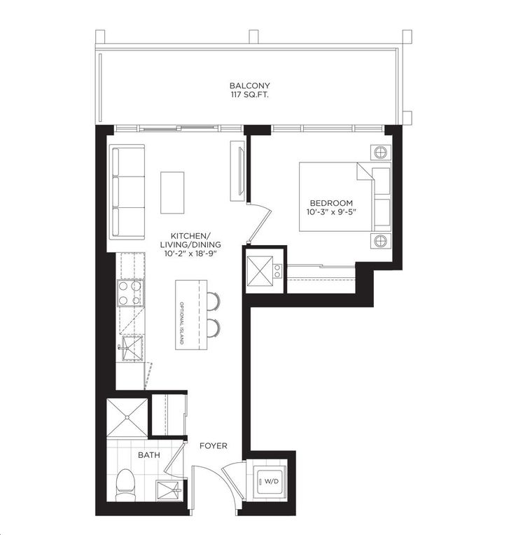 South Tower at the Buckingham 1 bed, 1 bath