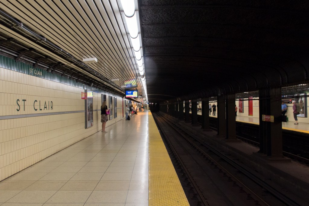 St. Clair West Station