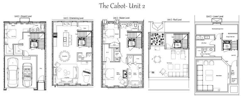 The Cabot Townhomes 3 bed, 4.5 bath