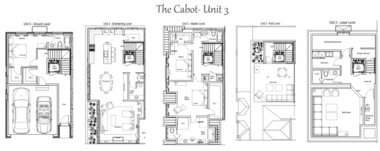 The Cabot Townhomes 3bed, 4.5 bath